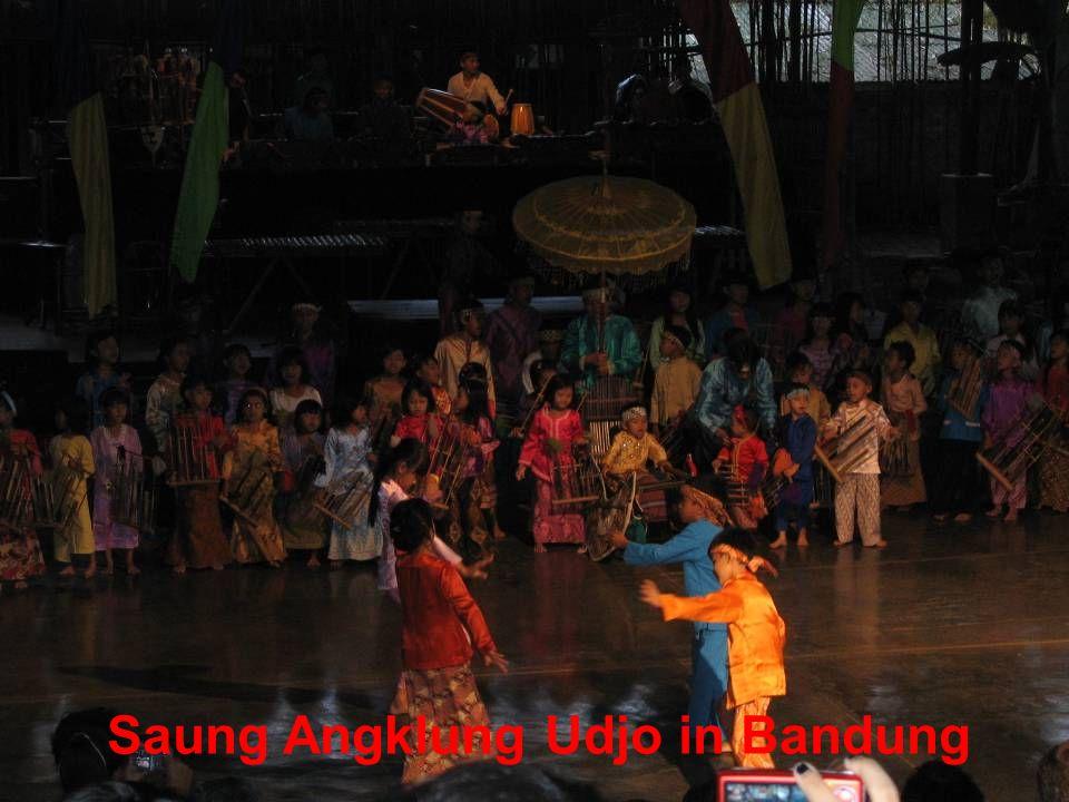 Saung Angklung Udjo in Bandung