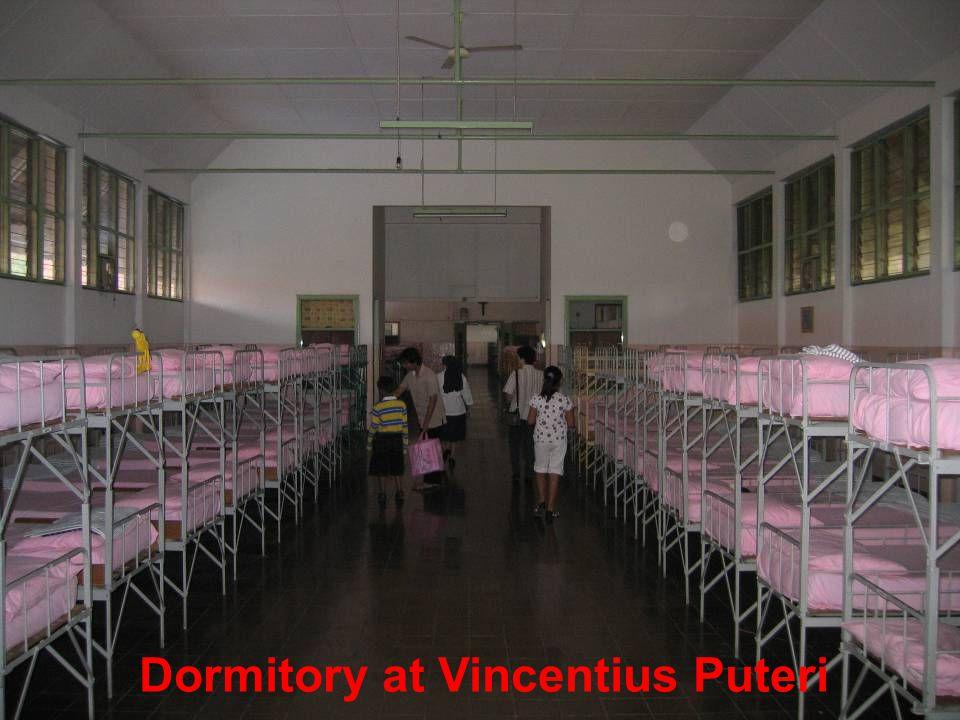 Dormitory at Vincentius Puteri