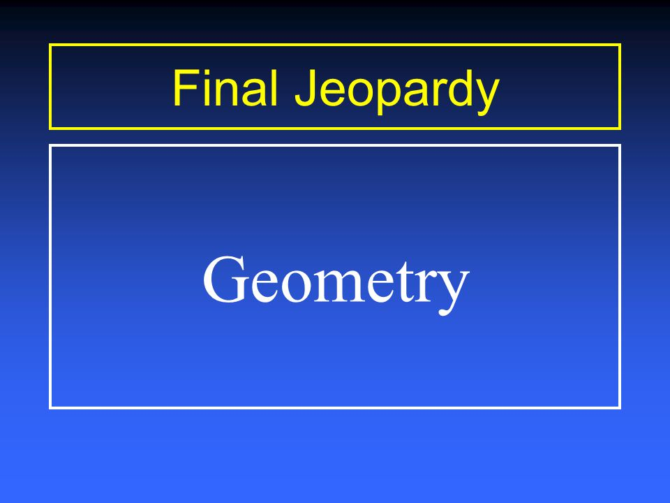 Geometry $1000-Answer The area of this shape is a) 80 sq.