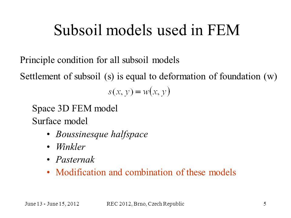 June 13 - June 15, 2012REC 2012, Brno, Czech Republic16 Contact stress course in element