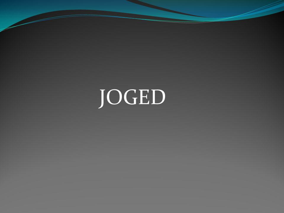 JOGED