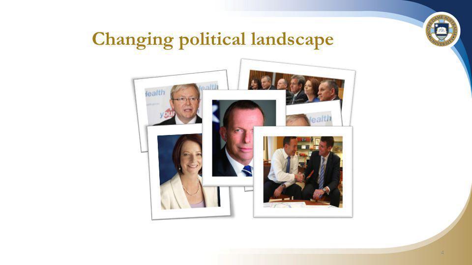 Changing political landscape 4