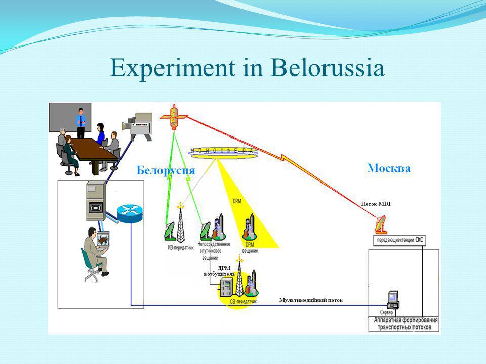 Experiment in Belorussia