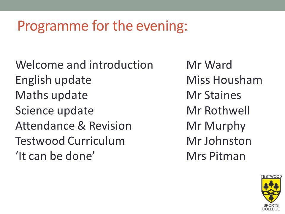 YEAR 11 ENGLISH Miss Julia Housham – Head of English j.housham@testwood.hants.sch.uk