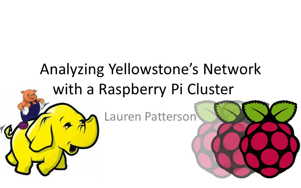 Analyzing Yellowstone's Network with a Raspberry Pi Cluster Lauren Patterson