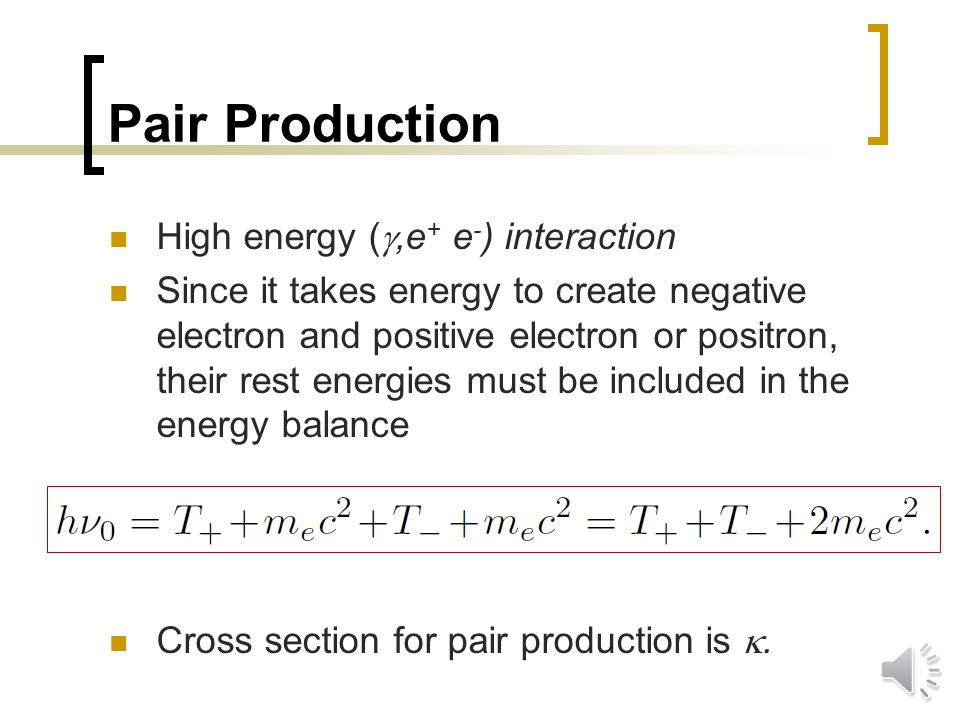 Inelastic Scattering Final photon with different energy from the initial photon ( ,  ') without emission of electron.