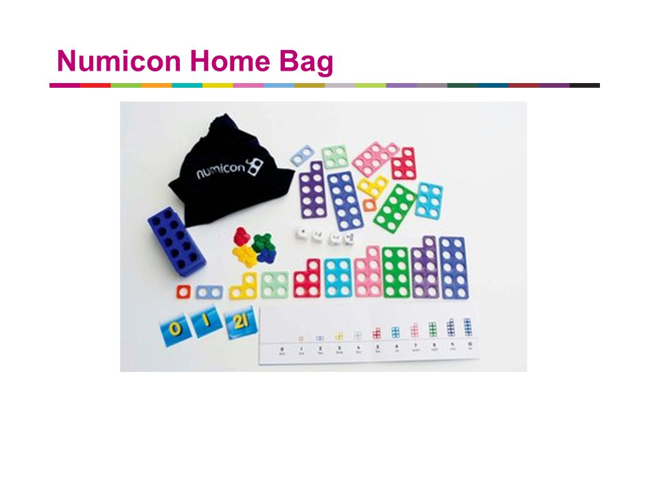 a better place to live Numicon Home Bag