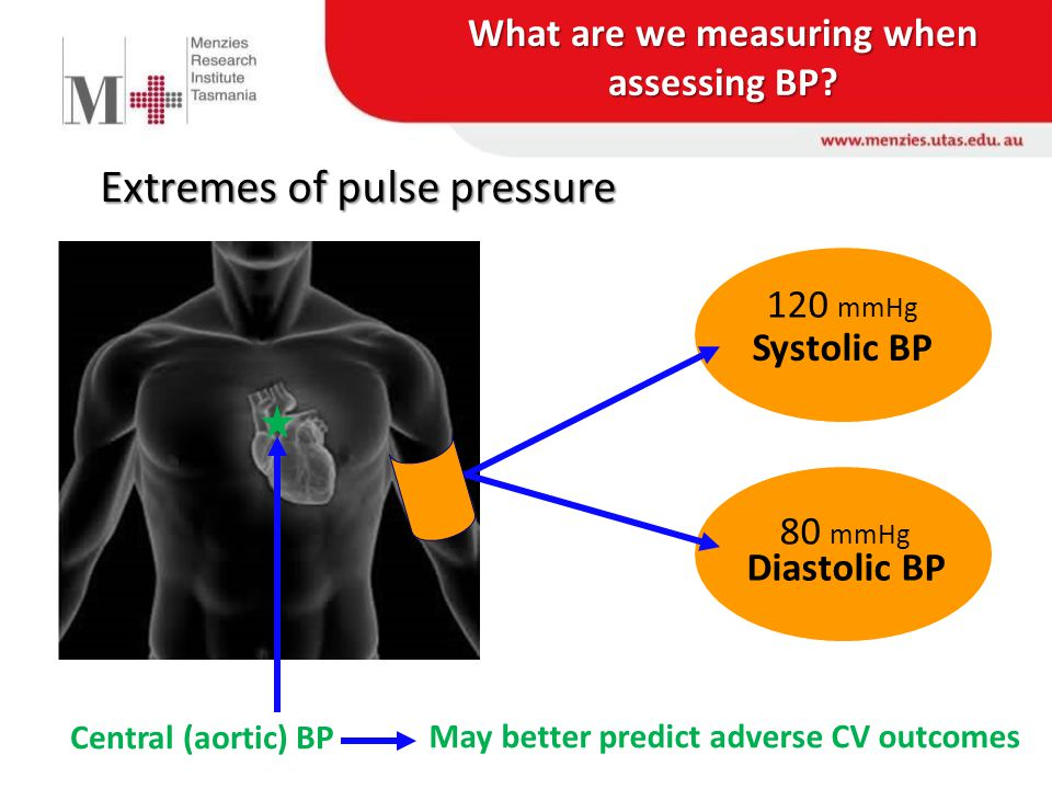 What are we measuring when assessing BP.