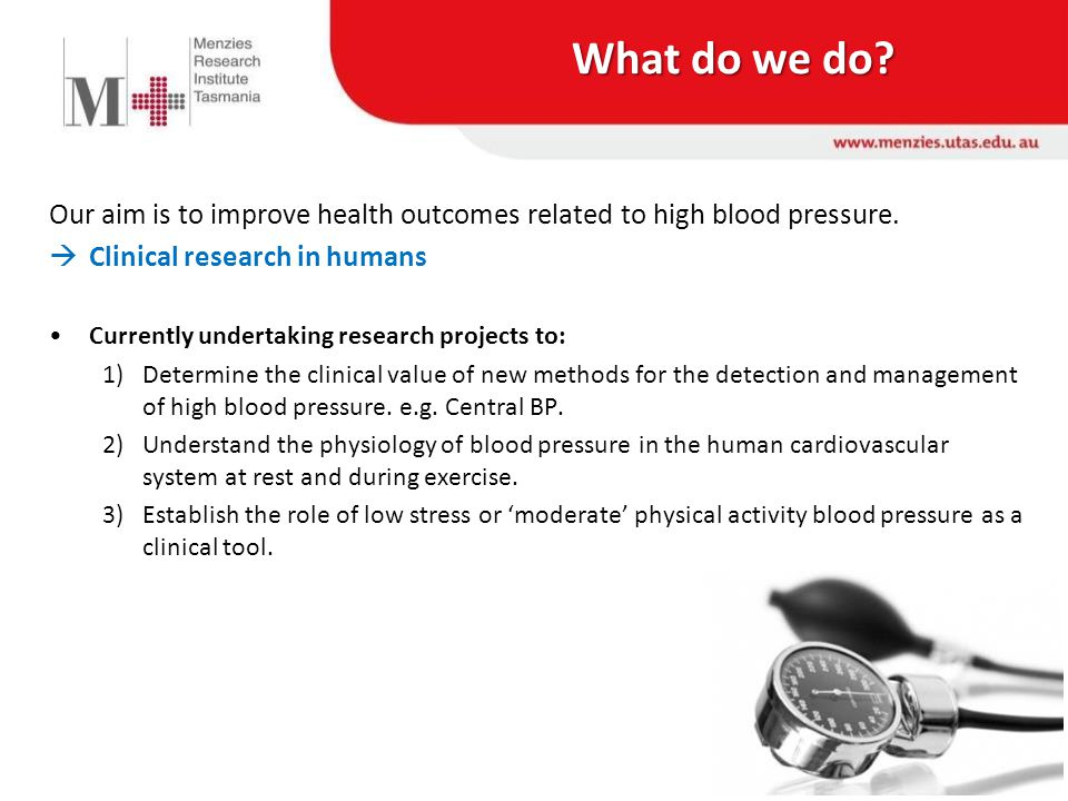 Blood Pressure (BP) – What is it.Two BP values: 1.