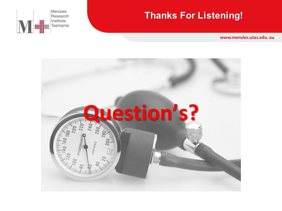 Thanks For Listening! Question's