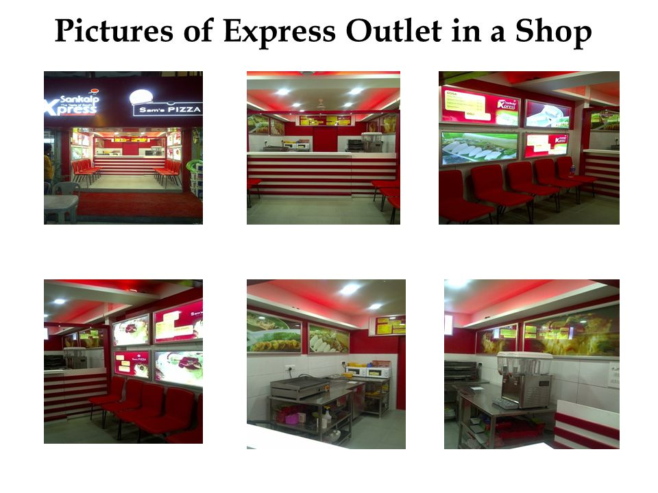 Pictures of Express Outlet in a Shop