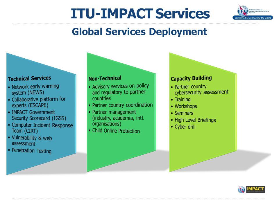 ITU-IMPACT Services Global Services Deployment