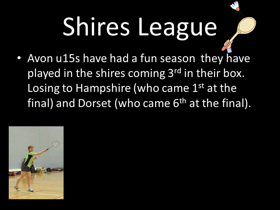 Shires League Avon u15s have had a fun season they have played in the shires coming 3 rd in their box.