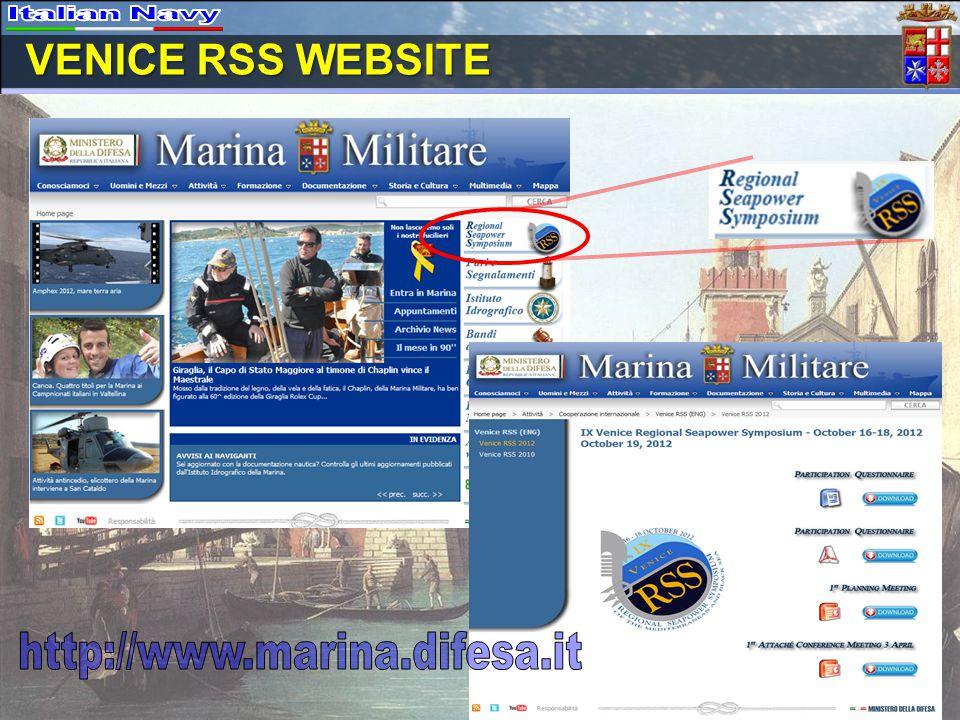 VENICE RSS WEBSITE