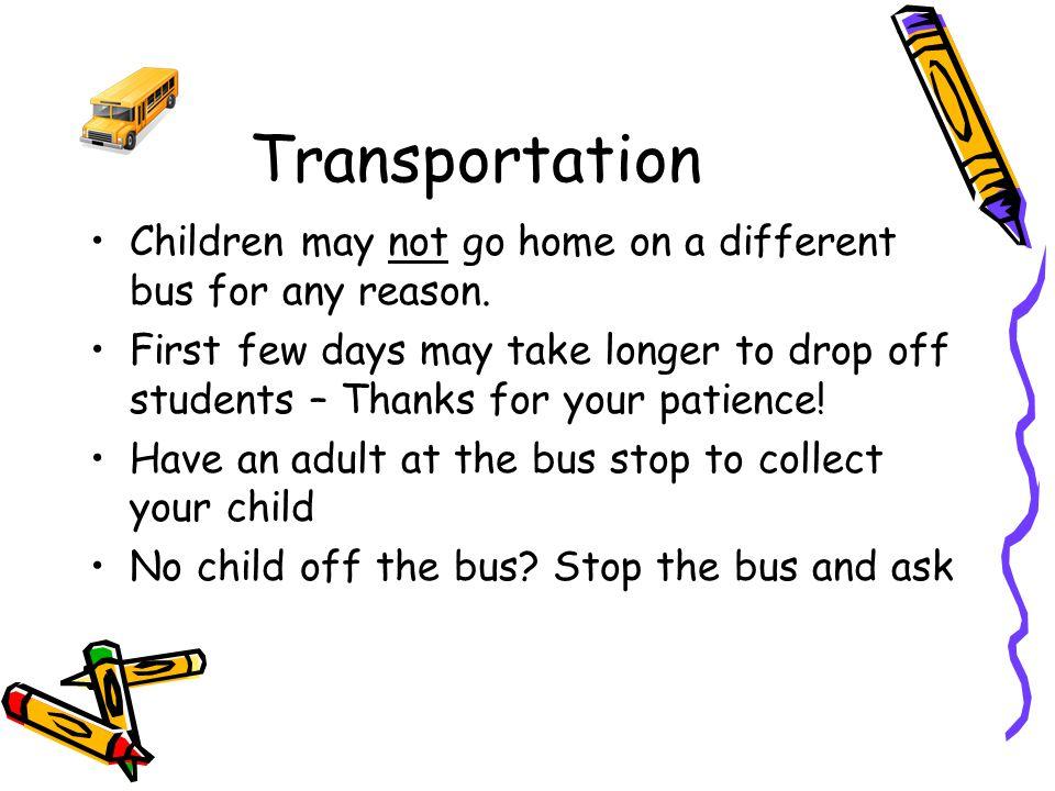 Walk Bus Car