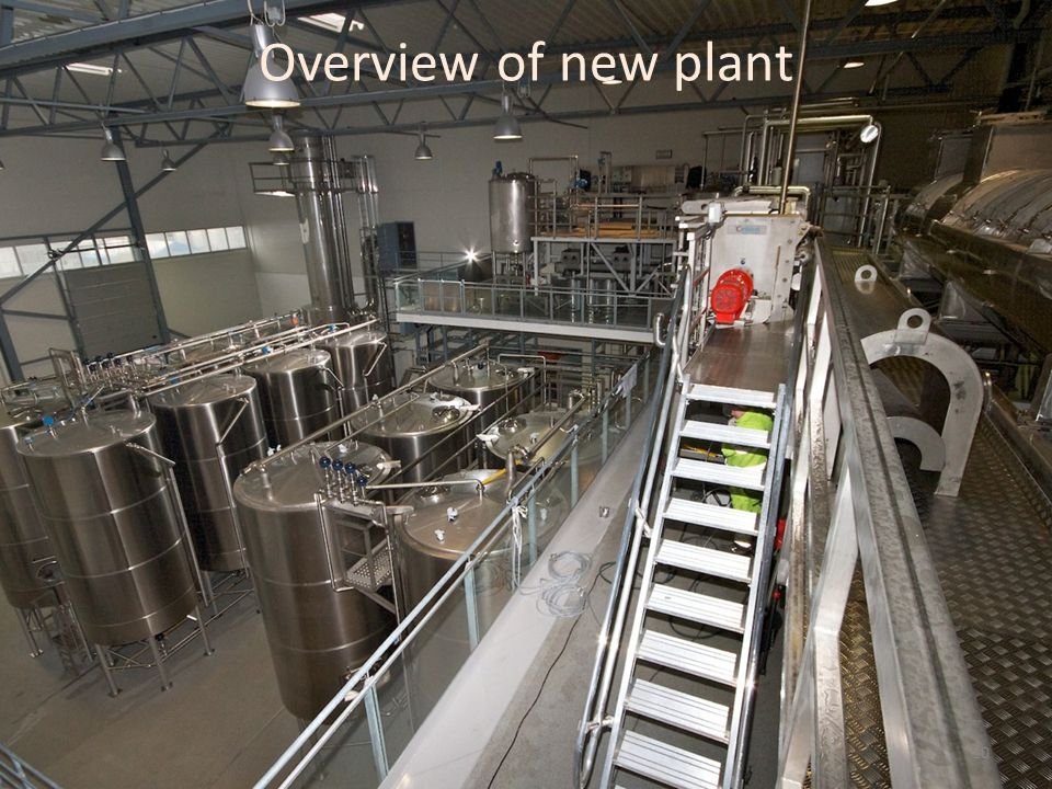 Overview of new plant 10