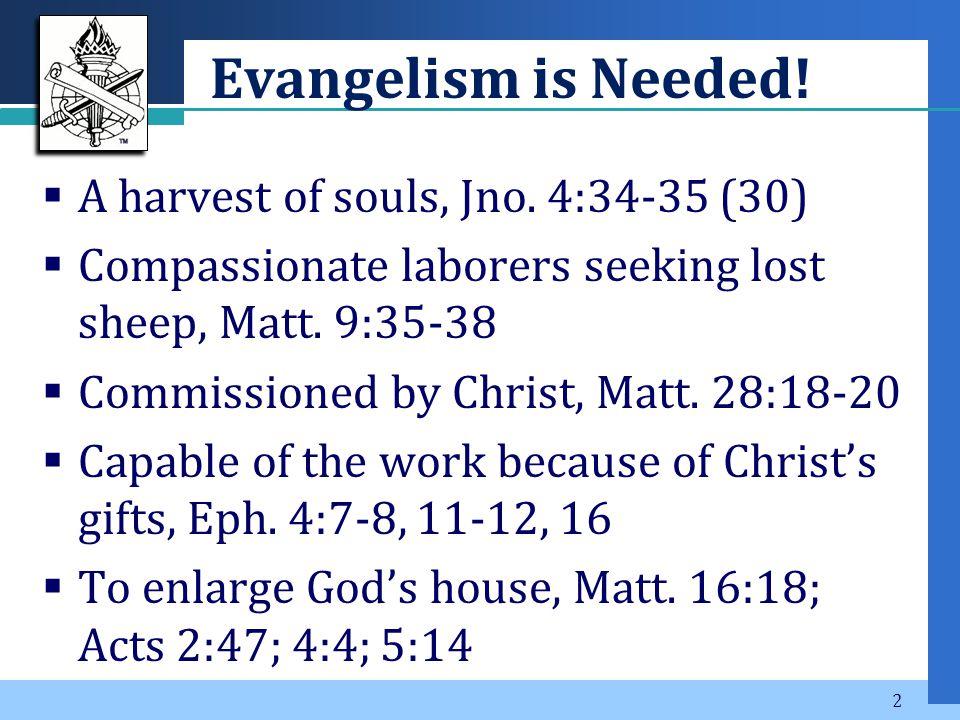Company LOGO God's Plan: Save the World by Preaching the Gospel 1 Corinthians 1:18-21 (23)