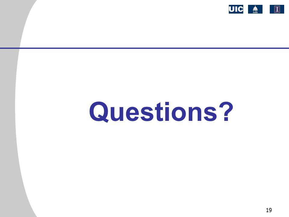 19 Questions?