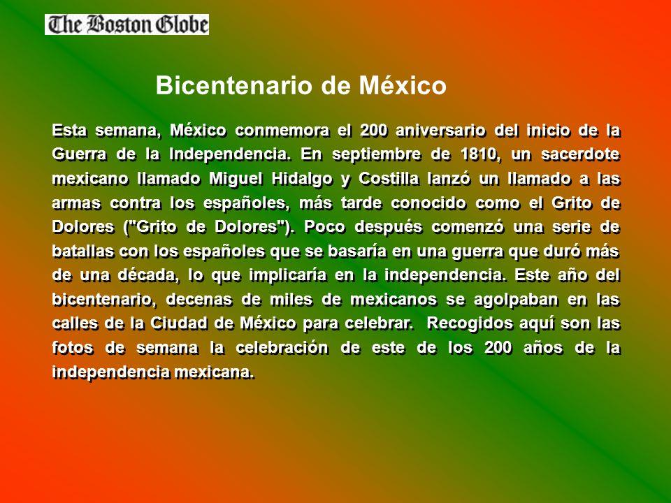 Esta semana, México conmemora el 200 aniversario del inicio de la Guerra de la Independencia.