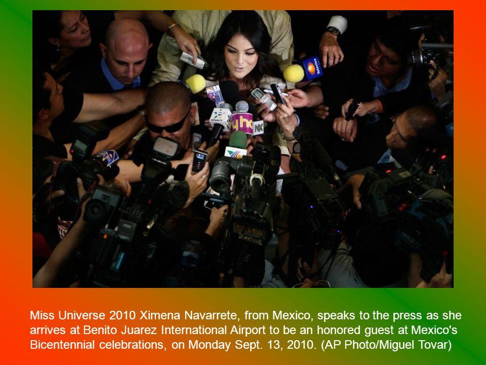 An escaramuza team member attends a Bicentennial Charreada in Tijuana, Mexico, Sunday Sept.