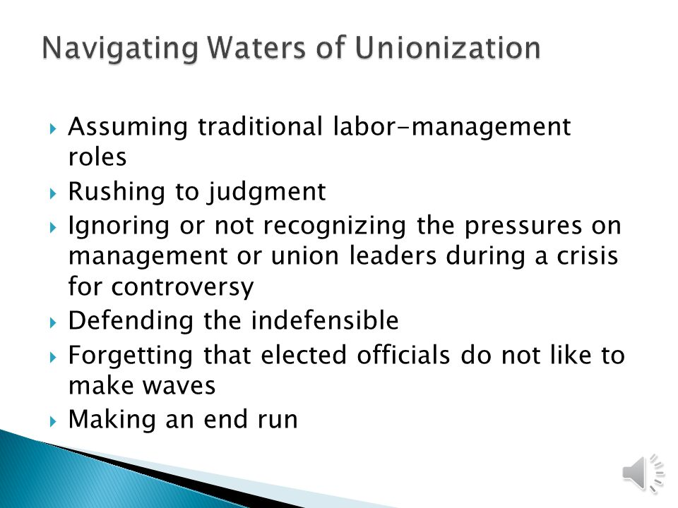  When a collective bargaining unit exists in a court system, the process has all the basic elements found in other systems: ◦ (1) recognition (the employing court recognizes that henceforth employees will be represented by their chosen agent); ◦ (2) negotiation (there are established methods for arriving at collective bargaining agreements, breaking deadlocks, ratifying contracts, and so on); and ◦ (3) contract administration (the day-to-day management of a court is accomplished within the framework of the labor contract).
