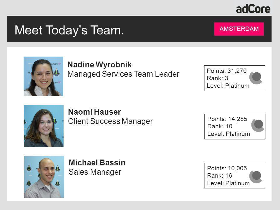 Meet Today's Team.