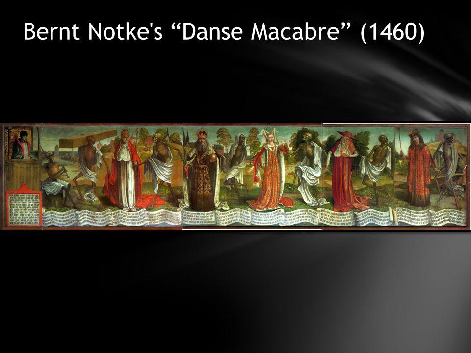 Bernt Notke s Danse Macabre (1460)