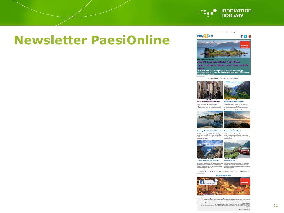 Newsletter PaesiOnline 12