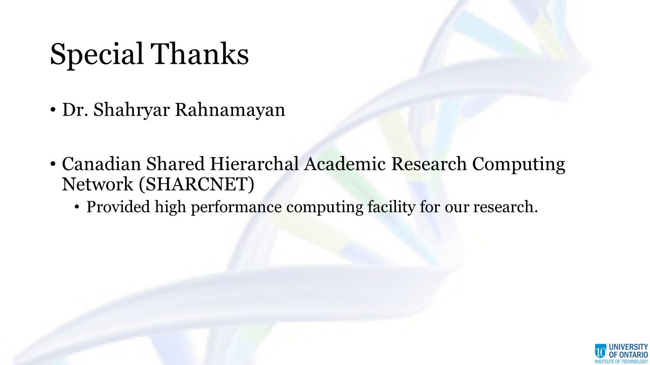 Special Thanks Dr.