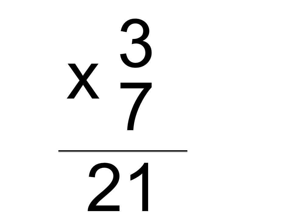 3 7 x 21