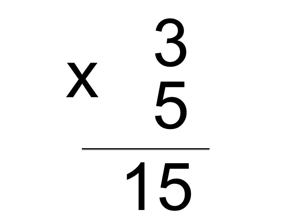 3 5 x 15