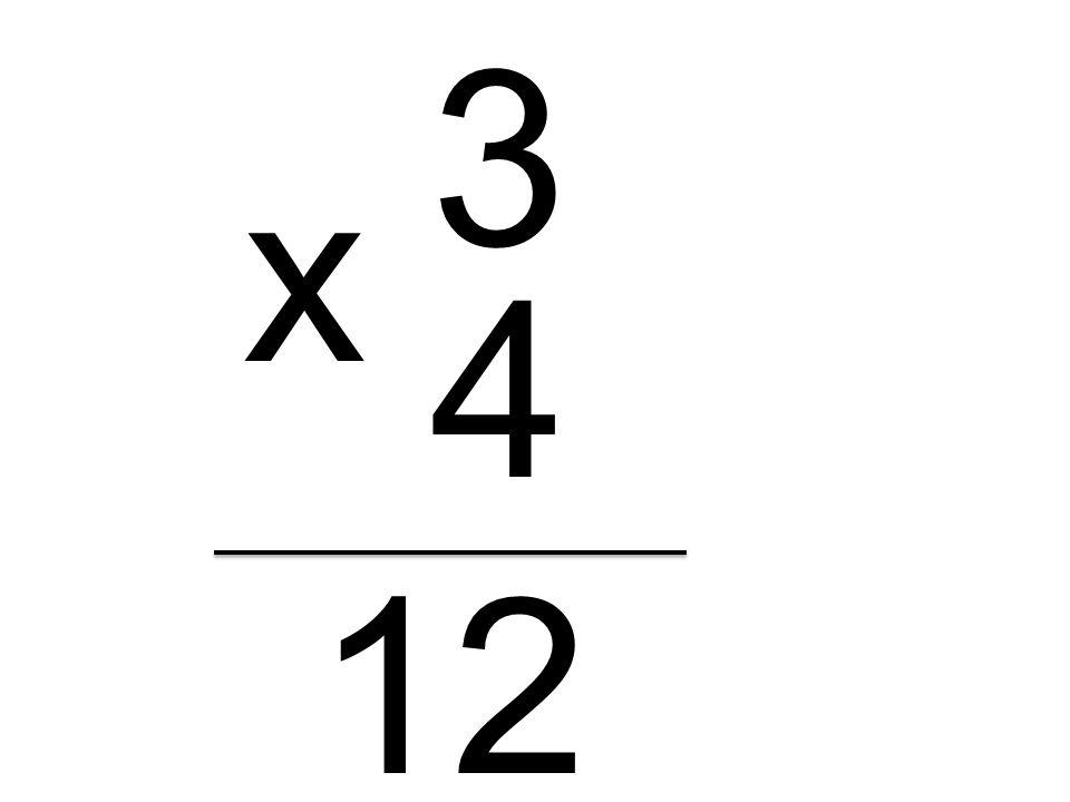 3 4 x 12