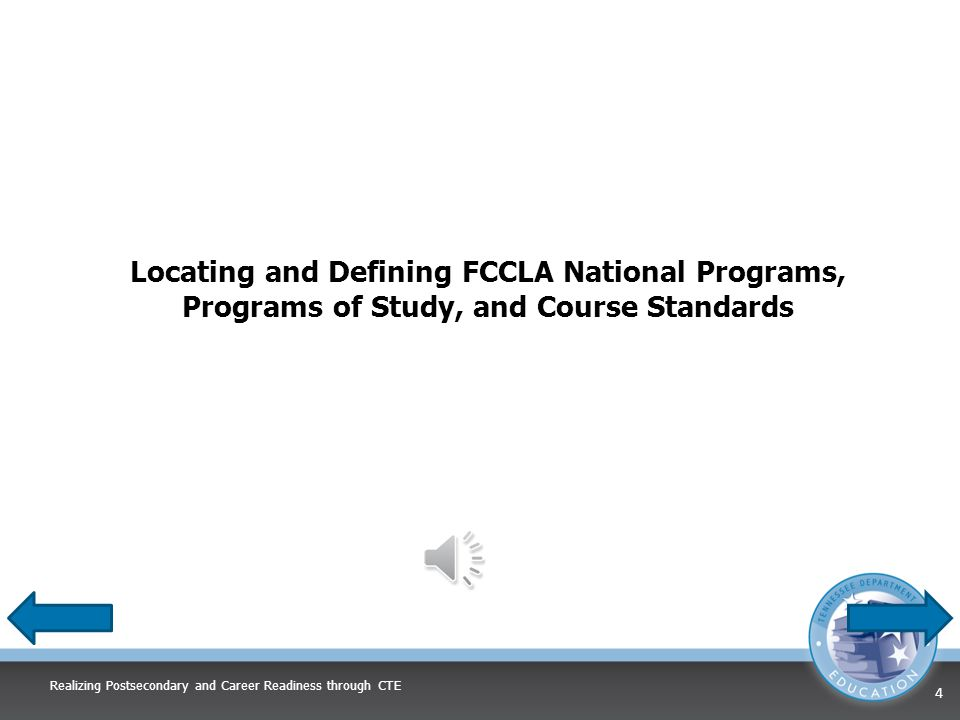 Integration Process Identify Course Standard Identify National Program FCCLA Planning Process Assessment Identify what aspects of National Program can be used in standard Identify concerns Set a goal Form a plan Act Follow up National Program Applications FCCLA Planning Process Realizing Postsecondary and Career Readiness through CTE 14