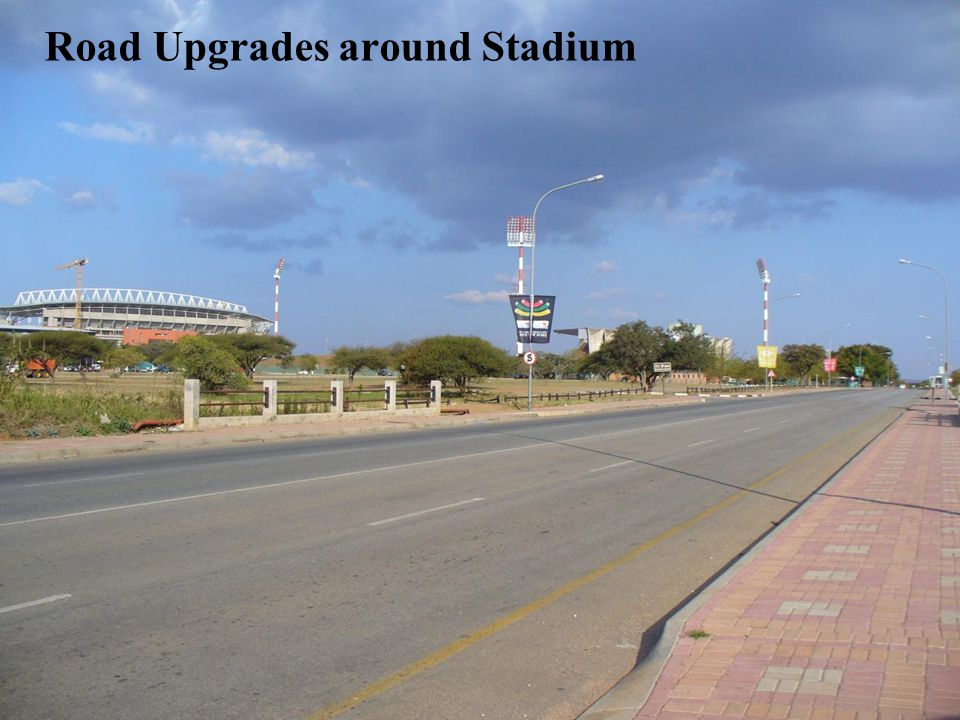 3 Road Upgrades around Stadium