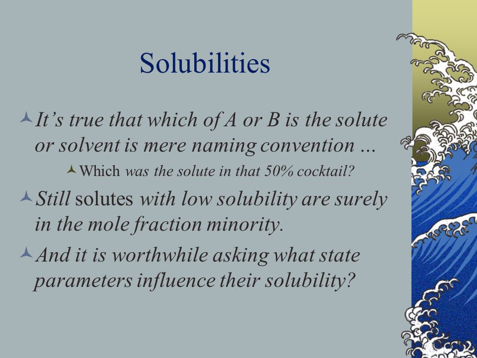 Exquisite Sensitivity To count protein moles, we need Osmotic Pressure that is very sensitive to [solute].