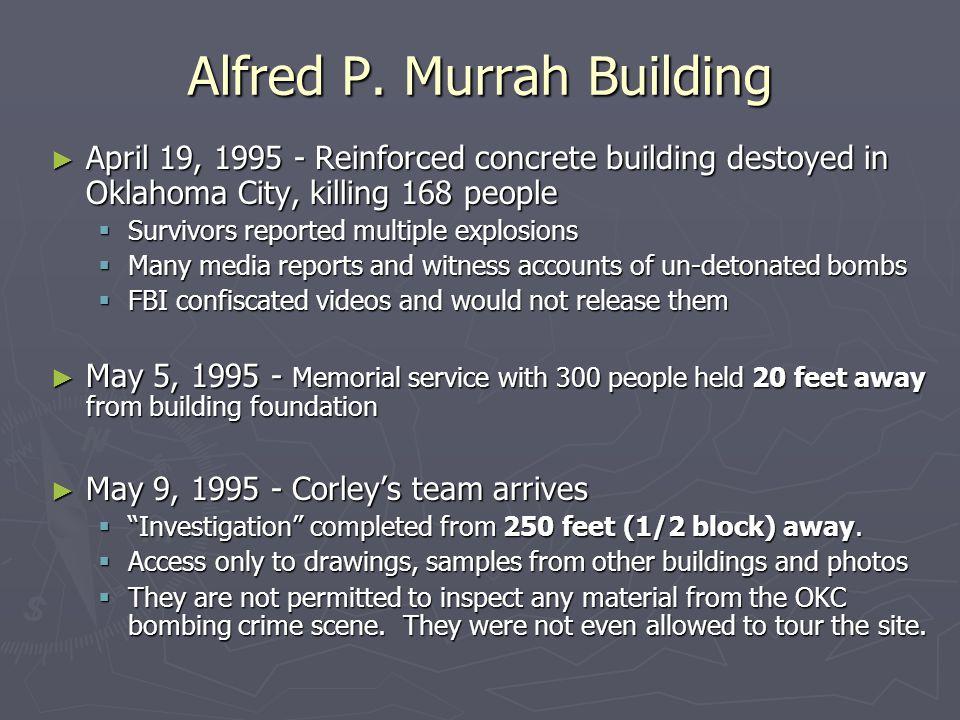 Alfred P. Murrah Building Alfred P.