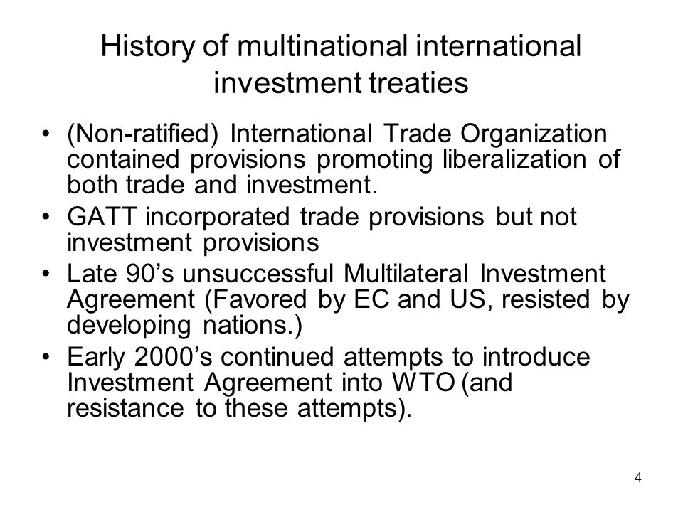 5 Facts about Bilateral Investment Treaties (BITs) Over 2000 BITs.