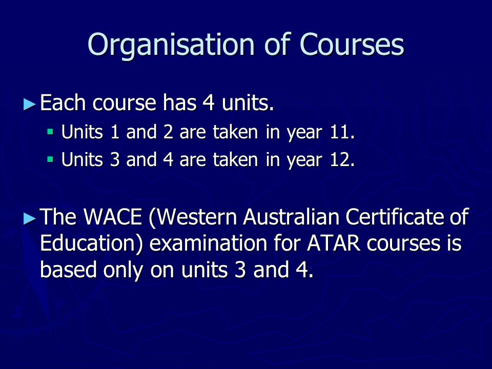Year 11 General Courses ► Mathematics Foundation:  is appropriate for students to meet the numeracy requirements for graduation, ie pass OLNA.