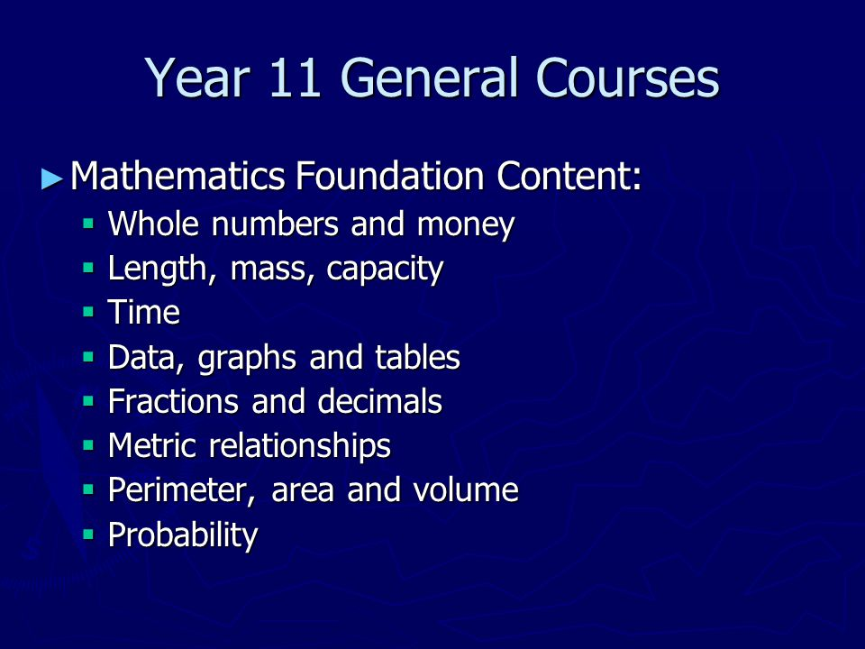 Year 11 ATAR Courses ► Mathematics Specialist provides opportunities, beyond those presented in the Mathematics Methods ATAR course, to develop rigorous mathematical arguments and proofs, and to use mathematical models more extensively.