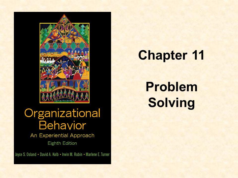 Chapter 11 Problem Solving
