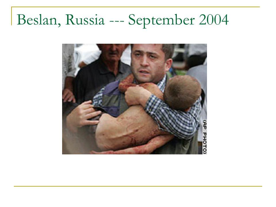 Beslan, Russia --- September 2004