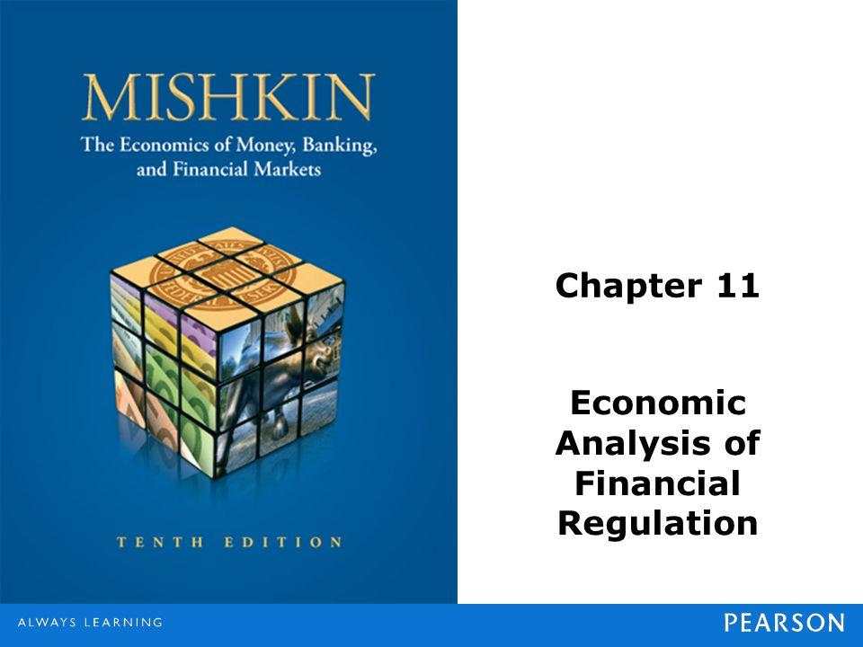 Chapter 11 Economic Analysis of Financial Regulation