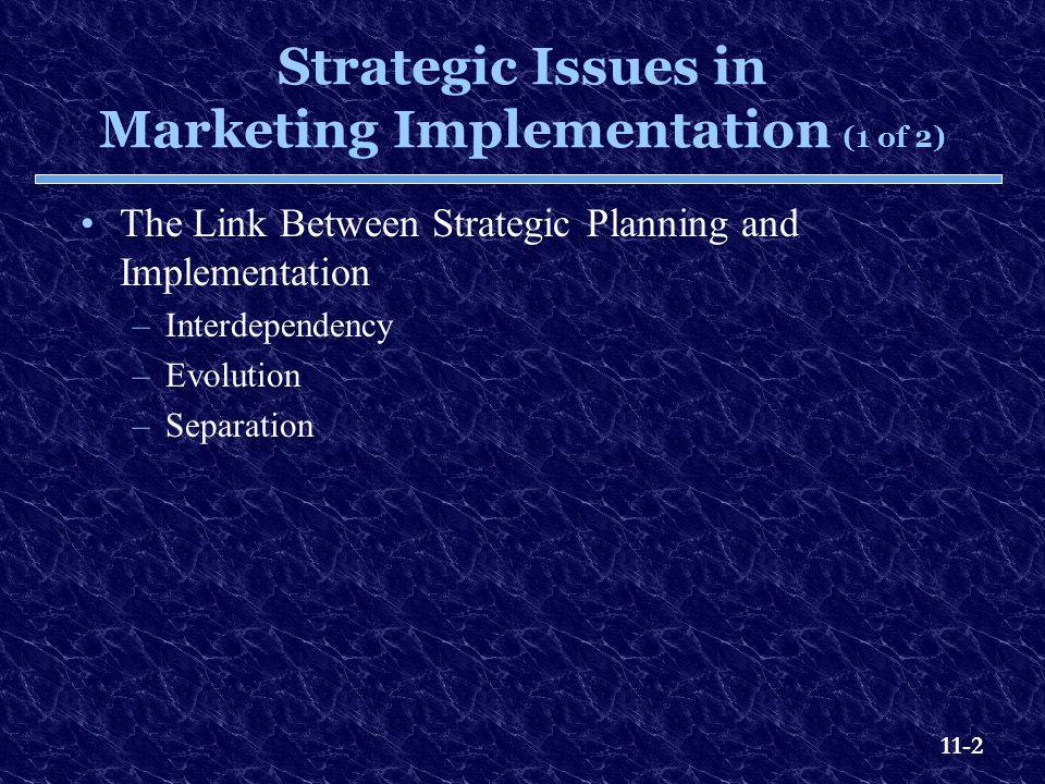 11-13 The Internal Marketing Process Exhibit 11.5