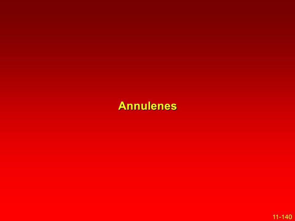 11-140 Annulenes