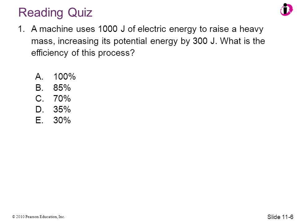 © 2010 Pearson Education, Inc. Summary Slide 11-37