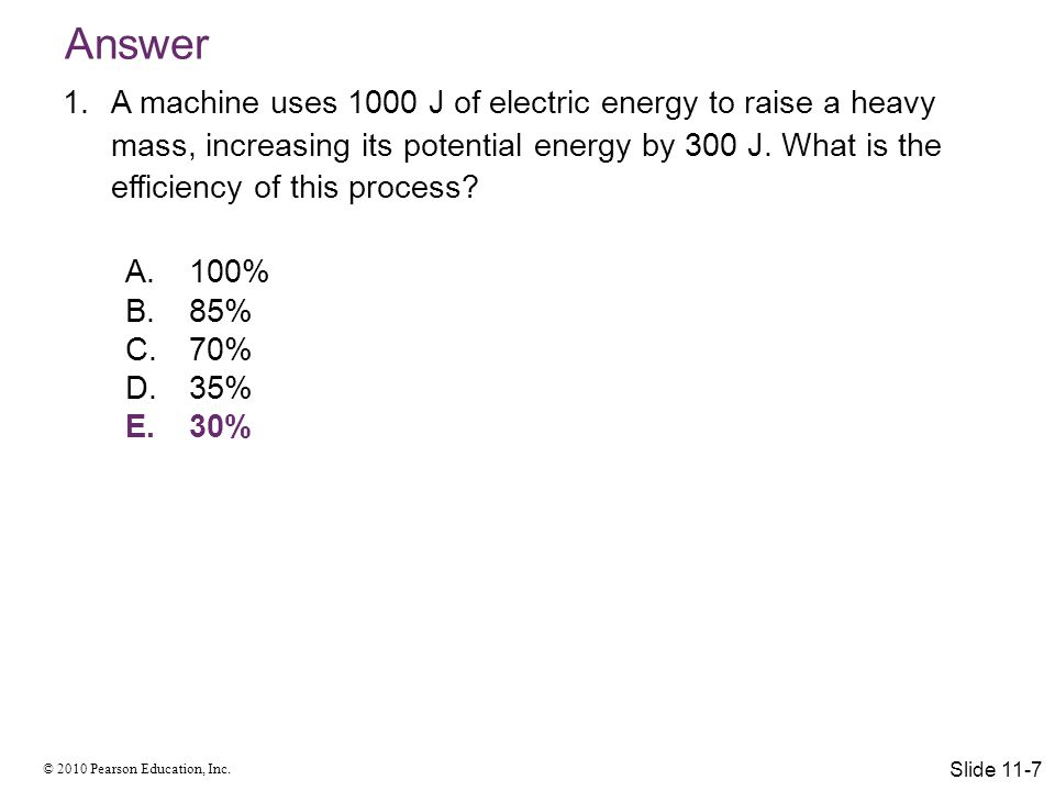© 2010 Pearson Education, Inc. The Ideal Gas Model Slide 11-18