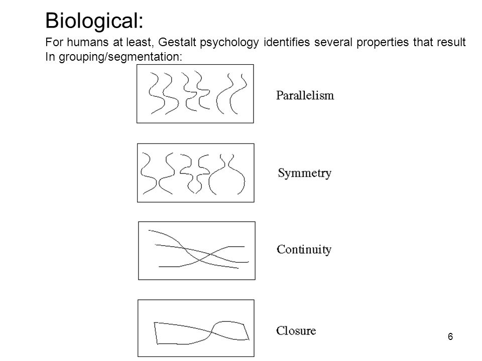 7 Consequence: Groupings by Invisible Completions * Images from Steve Lehar's Gestalt papers: http://cns-alumni.bu.edu/pub/slehar/Lehar.html Stressing the invisible groupings: