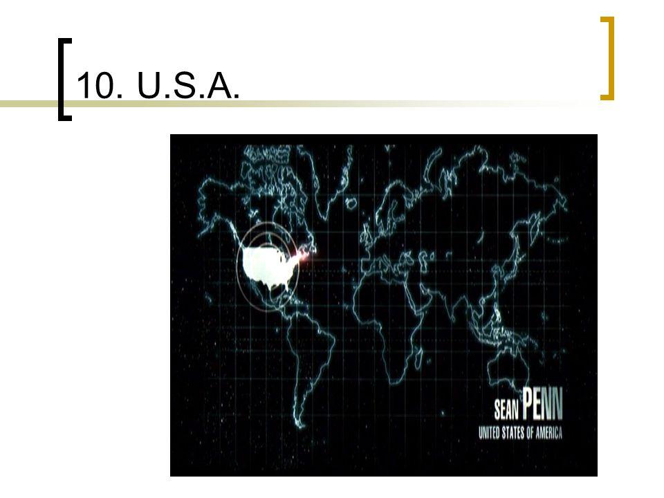 10. U.S.A.