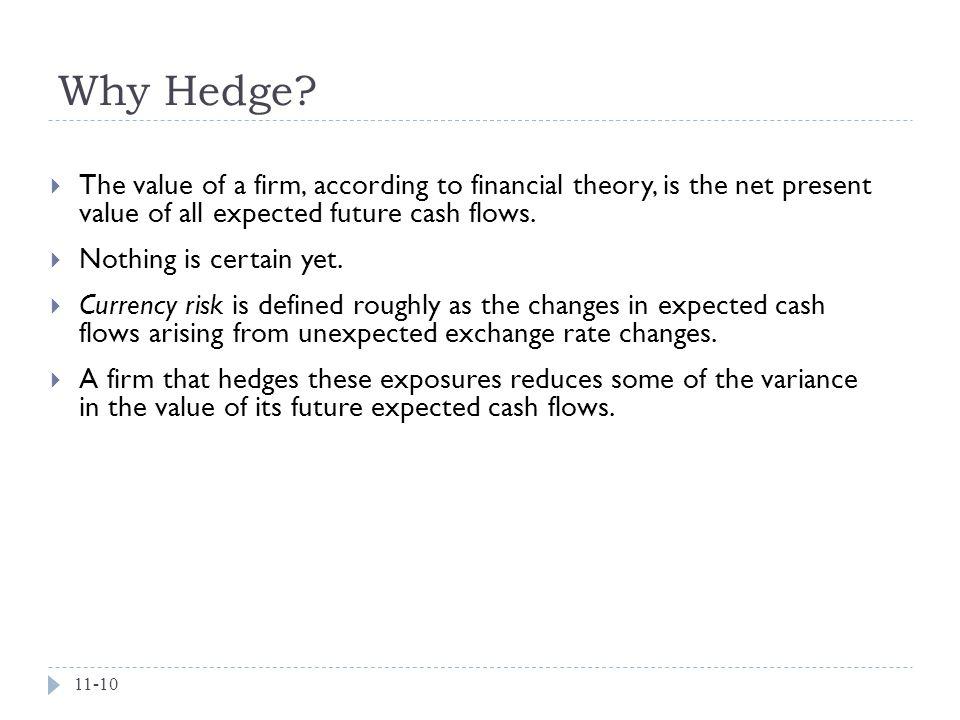 Why Hedge.