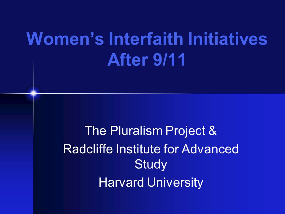 Faculty Feedback & Discussion Insights from women's studies, religious studies, leadership studies, psychology, & American religious history What kinds of models and methodologies are at play.